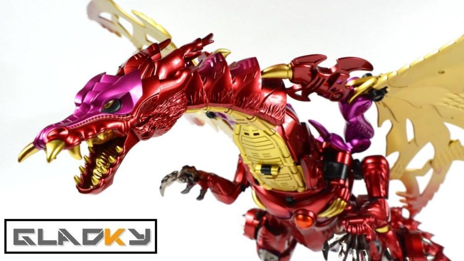 Transmetal Ii Megatron Jiang Xing Winged Dragon