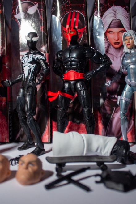 ManiacyFigurek Marvel Legends Kingpin BAF Night Thrasher 3b