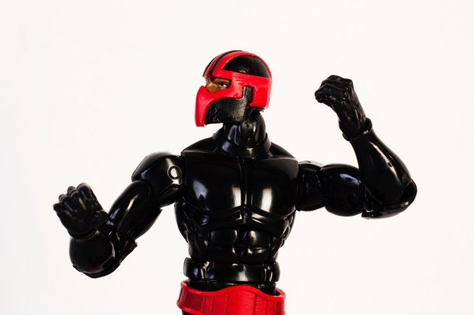 ManiacyFigurek Marvel Legends Kingpin BAF Night Thrasher 6a