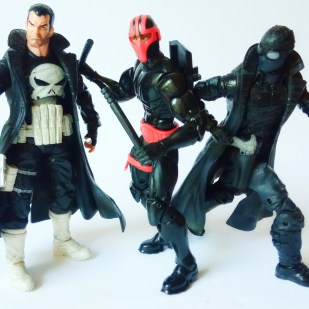 ManiacyFigurek Marvel Legends Kingpin BAF Night Thrasher 8b