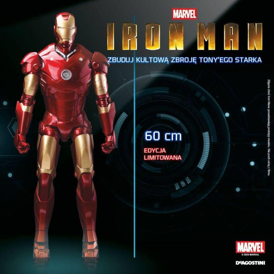 figurka iron man de agostini premium