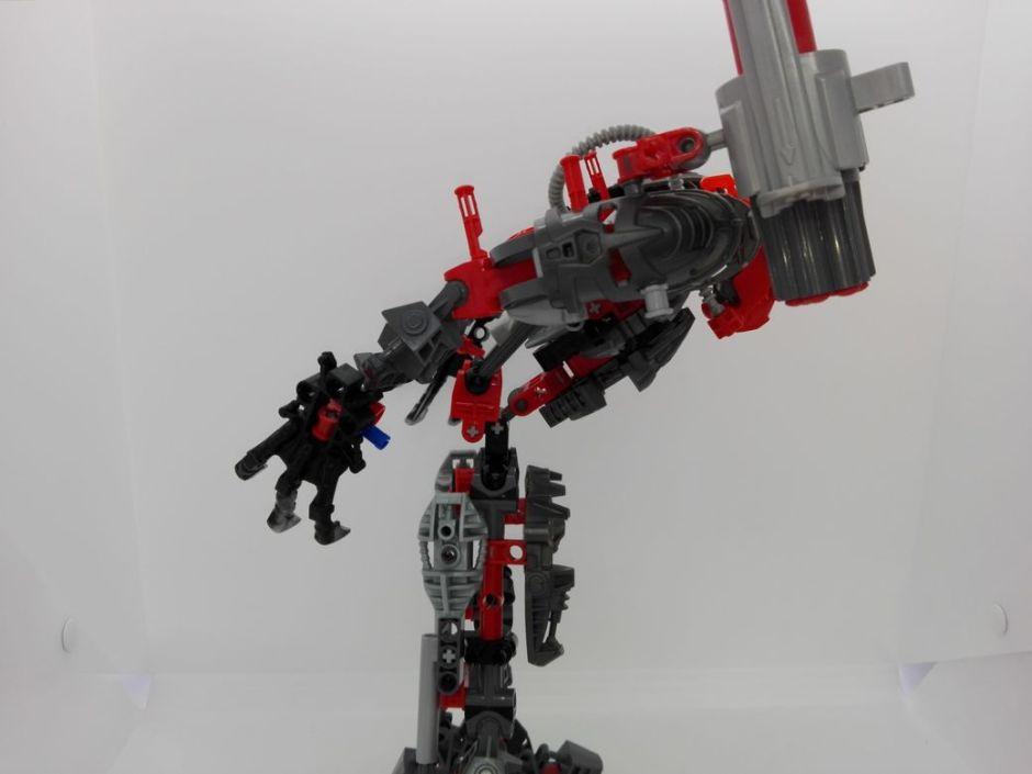LEGO Bionicle 8924 Maxilos & Spinax Maxilos-torso-6