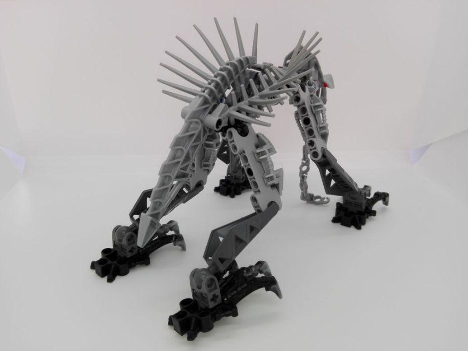 LEGO Bionicle 8924 Maxilos & Spinax Spinax-back