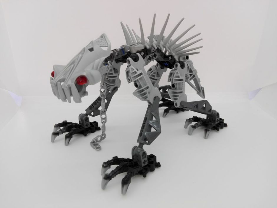 LEGO Bionicle 8924 Maxilos & Spinax Spinax-front