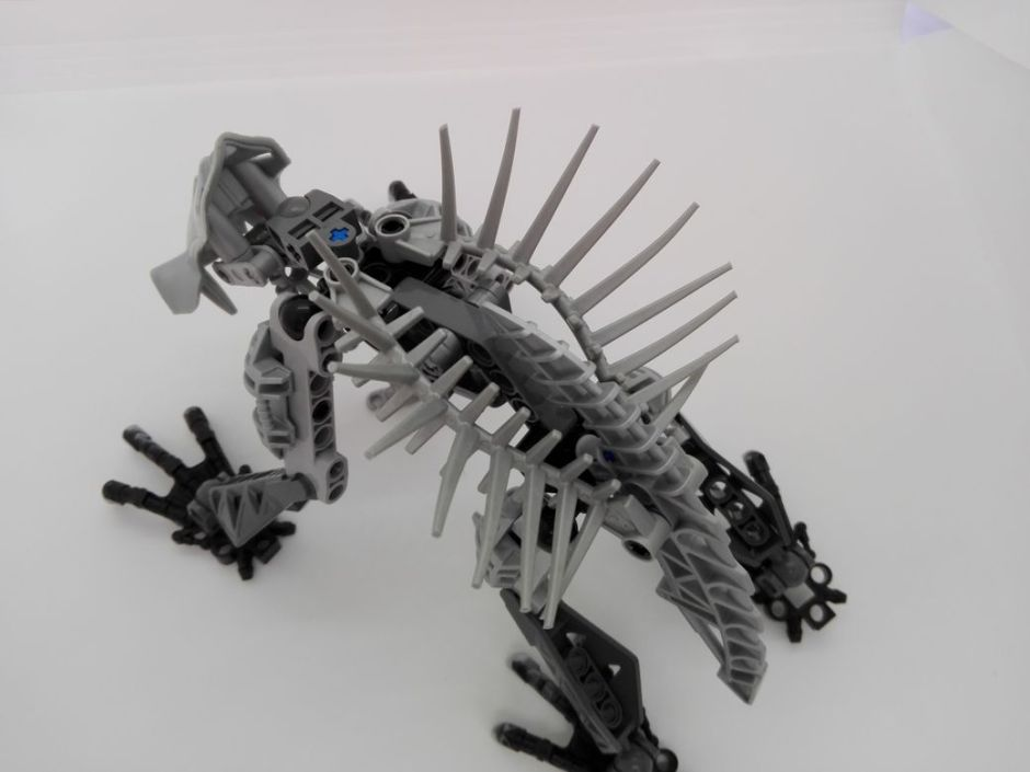 LEGO Bionicle 8924 Maxilos & Spinax Spinax-spine
