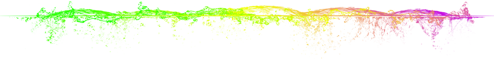 Image result for line divider rainbow