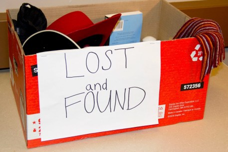 How To Find Lost Things