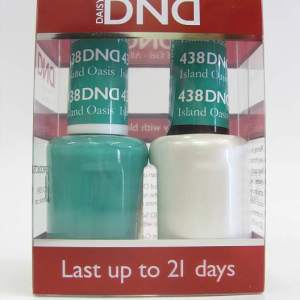 DND Soak Off Gel & Nail Lacquer 438 - Island Oasis
