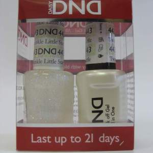 DND Soak Off Gel & Nail Lacquer 443 - Twinkle Little Star
