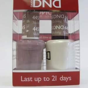 DND Soak Off Gel & Nail Lacquer 445 - Melting Violet