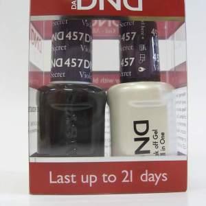 DND Soak Off Gel & Nail Lacquer 457 - Violet's Secret
