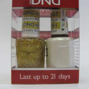 DND Soak Off Gel & Nail Lacquer 465 - Royal Jewelry