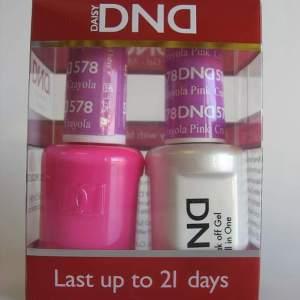 DND Gel & Polish Duo 578 - Crayola Pink