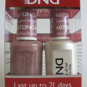 DND Gel & Polish Duo 607 - Hazelnut