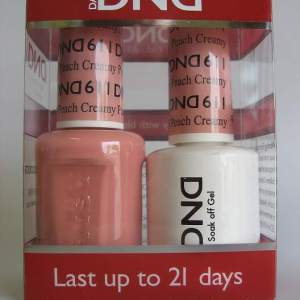 DND Gel & Polish Duo 611 - Creamy Peach