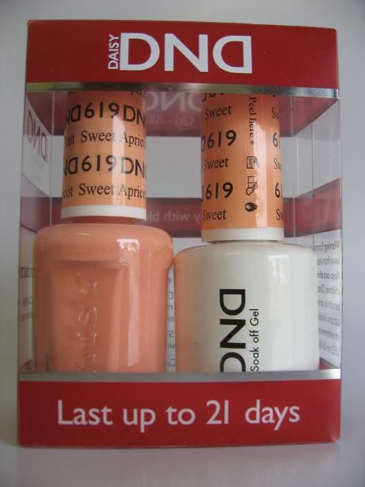 DND Gel & Polish Duo 619 - Sweet Apricot