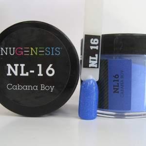 NuGenesis Dip Powder - Cabana Boy NL-16