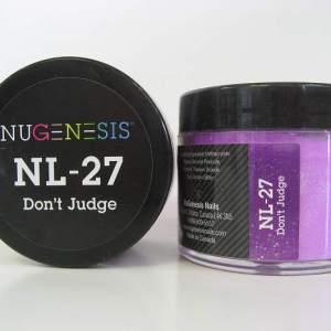 NuGenesis Dip Powder - Don't Judge NL-27