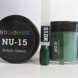 NuGenesis Dipping Powder - British Green NU-15