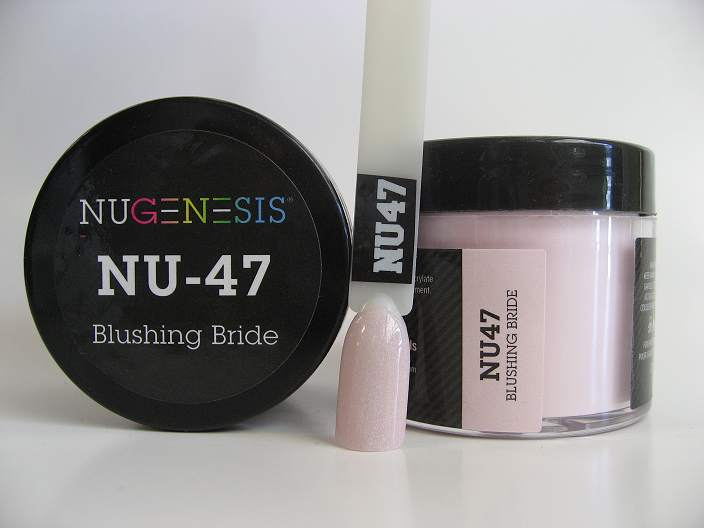 Nugenesis Dipping Powder Nu47 Blushing Bride Manicure
