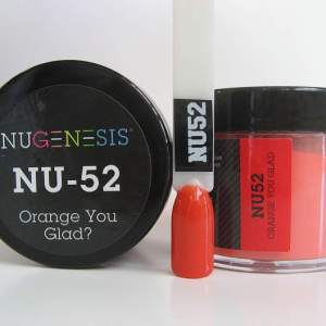 NuGenesis Dipping Powder - Orange You Glad? NU-52
