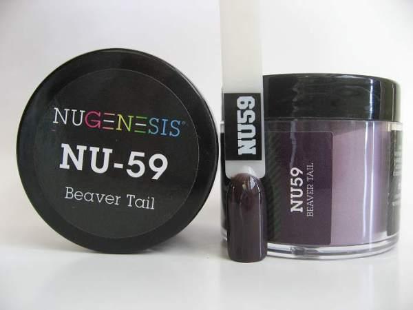 NuGenesis Dipping Powder - Beaver Tail NU-59
