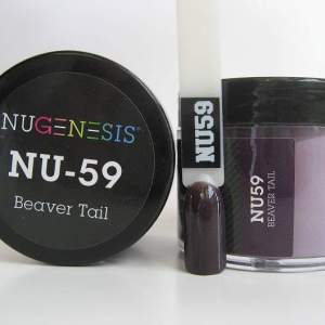 NuGenesis Dipping Powder - Beaver Tail NU-59