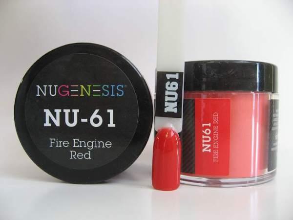 NuGenesis Dipping Powder - Fire Engine Red NU-61