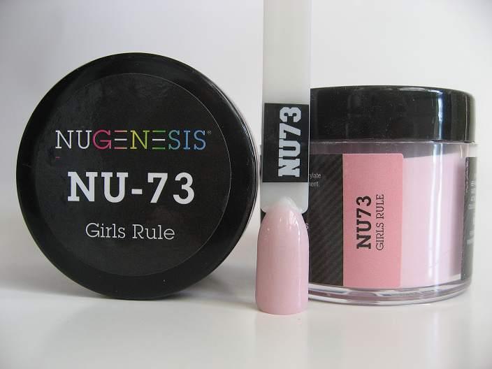 Nugenesis Dipping Powder Nu73 Girls Rule Manicure Pedicure