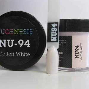 NuGenesis Dipping Powder - Cotton White NU-94