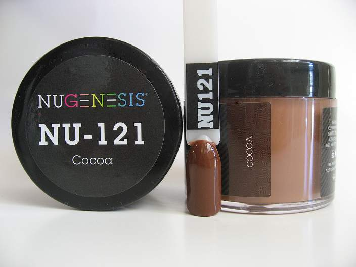 Nugenesis Dipping Powder Nu121 Cocoa Manicure Pedicure