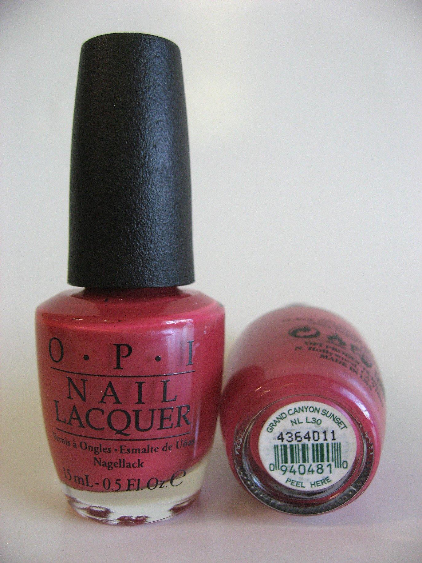 OPI Polish - L30 - Grand Canyon Sunset - Manicure Pedicure