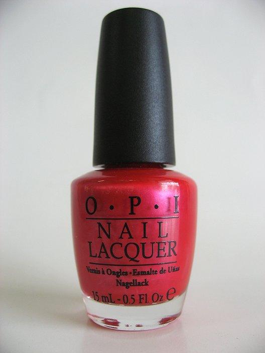 OPI Polish V12 - Cha-ching Cherry