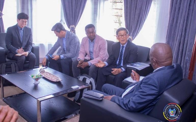 Maniema : L'entreprise coréenne Samjin LND Ltd va investir dans le secteur énergétique