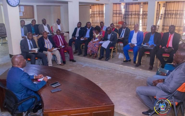 Maniema : le Gouverneur Musafiri appelle la FEC à conscientiser ses membres sur le civisme fiscal