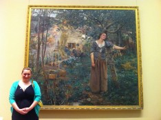 Me & Miss Joan: This painting (by Jules Bastien-Lepage) is one of my favorite paintings.