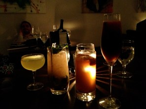 From left to right: Judy, Ingrid, Esther, Jocelyn. There are not words to describe how amazing these drinks were.