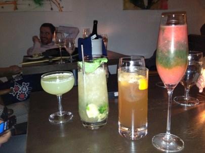 The Bohemian drinks light