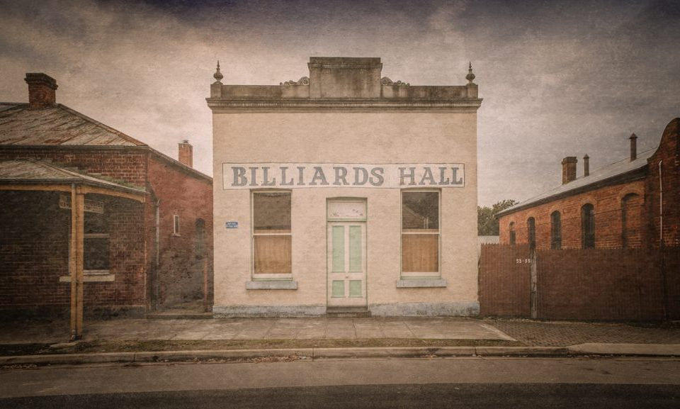 Chiltern Billiards Hall fine art print