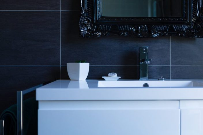 commercial photography of bathroom for accommodation in glenorie
