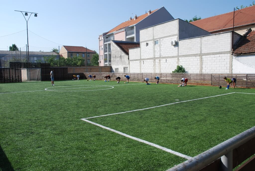 Sokolski dom - mali fudbal