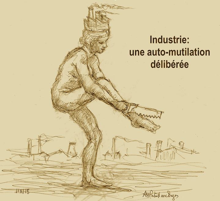 Industrie : une auto-mutilation délibérée