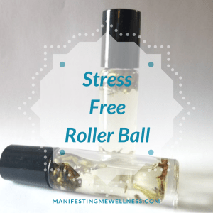 Wellness Product: Stress Free Roller Ball with essential oils