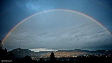 Regenbogen über dem Siebengebirge .:. 7.12.2013