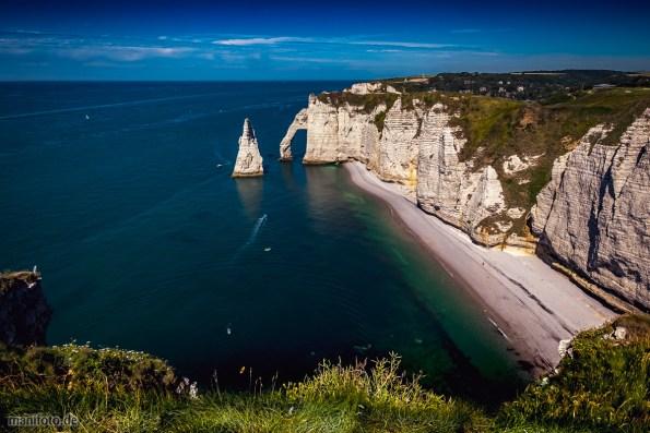 Normandie .:. Côte d'Albatre .:. Etretat .:. Alabasterküste