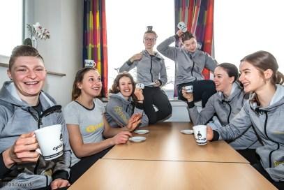 Team d.velop Ladies und cycle cafe, 22.2.2020