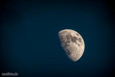 Der Mond zum Greifen nah .:. 21.2.21