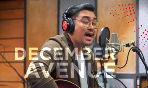 December Avenue for Coke Studio Philippines.