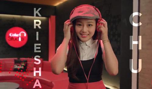 Fil-Am Kriesha Chu for Coke Studio Philippines