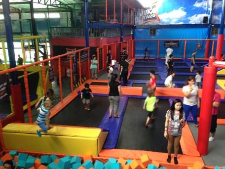 Jump Yard trampolines - Manila for Kids